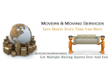 Movers & Moving Services