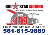 Big Star Moving from $199