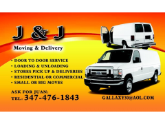 J&J Moving & Deliveries