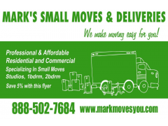 Mark`s Small Moves & Deliveries