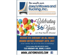 Joey`s Movers and Trucking