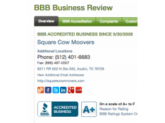 Square Cow Movers The Woodlands
