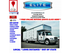 Elite Moving & Delivery Service