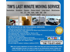 Tim`s Last Minute Moving