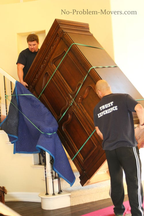 How To Move Very Heavy Furniture Up Stairs Photos Freezer And